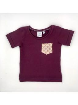 Tshirt enfant manches courtes coquillage