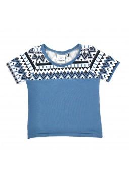 T-shirt manches courtes Zigzag