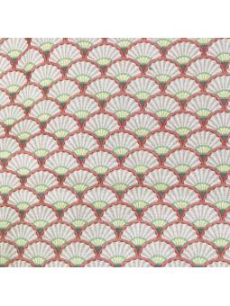 tissu coquillage