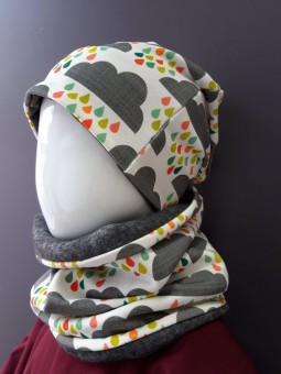 Bonnet Beanie nuages