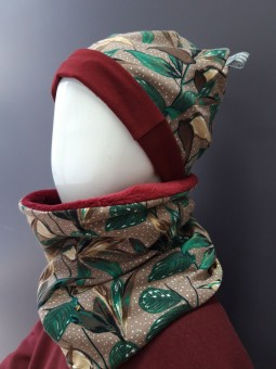 Bonnet Beanie + Snood...