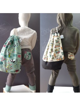 ensemble pantalon sac à dos enfant