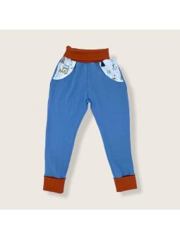 Pantalon évolutif Tamias bleu