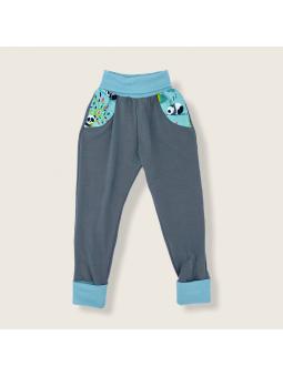 Pantalon évolutif Panda vert