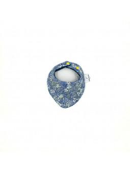 Bandana Fleur bleue